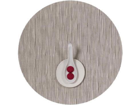 Chilewich  Bamboo  Bamboo Chalk Placemat Round $16.25
