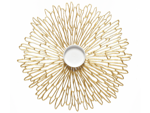 $10.50 Bloom Gilded Placemat