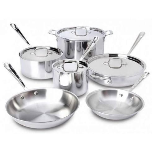 All-Clad  Stainless Cookware All Clad S/S 10pc Set $699.99