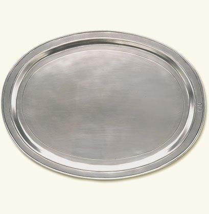 Match  Servingware: Platters and Bowls Oval Incised Tray $294.00