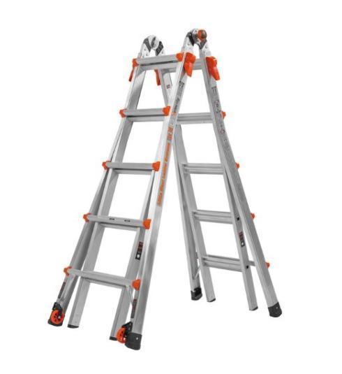 $199.99 22\' Aluminum Articulating Ladder