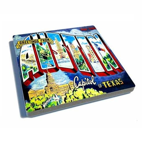 Exit 82 Art  Coasters 1st St Col Aus 4x4 $10.00