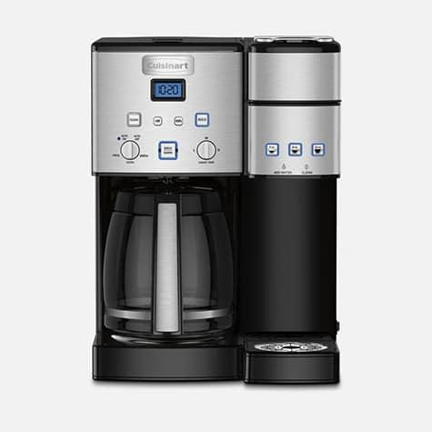 $199.95 Coffee Center 12 Cup Coffeemaker and Single Serve Brewer