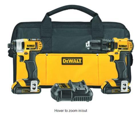 $229.99 Drill/Driver and Impact Driver Combo Kit