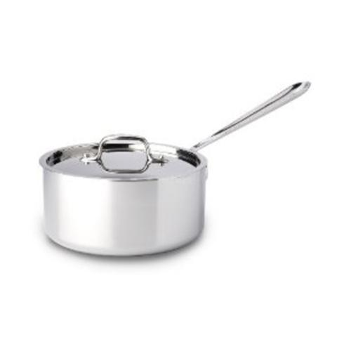 All-Clad  Stainless Cookware Stainless Steel 3qt Sauce Pan w/ Lid $185.00