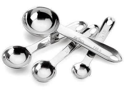 $25.00 Stainless Steel Measuring Spoon Set