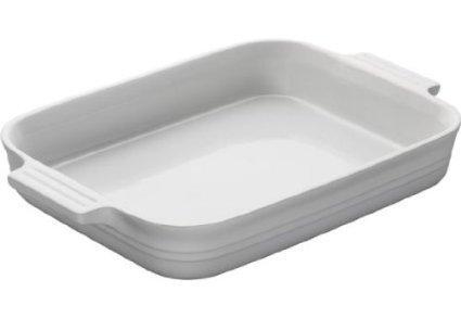 Le Creuset  White 2.25qt Rect Dish White $55.00