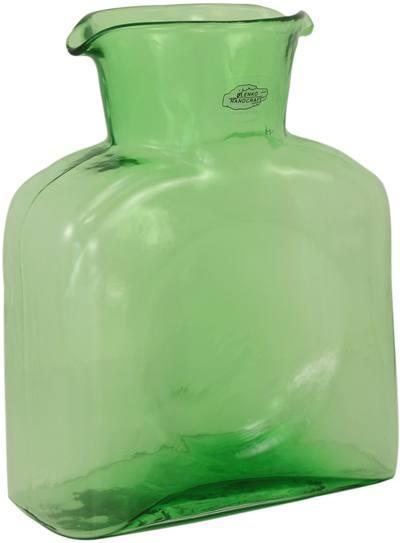 Blenko Glass Co   Spring Green Water Bottle $53.00