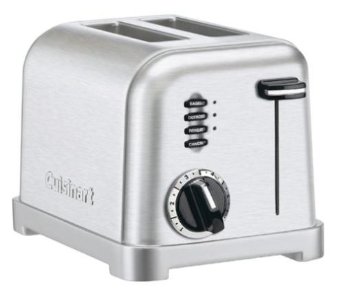 Cuisinart  Toasters  2 Slice Metal Classic Toaster $49.95
