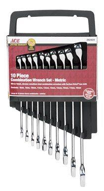 Ace  Ace 10pc Metric Wrench Set $31.99