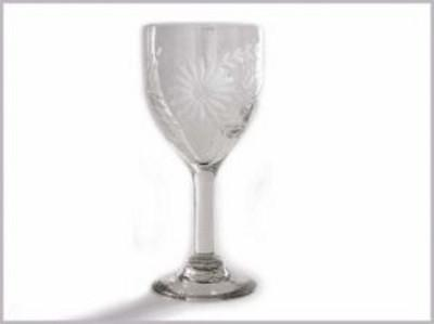 Rose Ann Hall Designs  Condessa Clear Condessa Clear Wine Glass $22.00