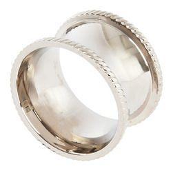 Saro Designs  Napkin Rings Silver Rnd Shape Napkin Ring $7.50