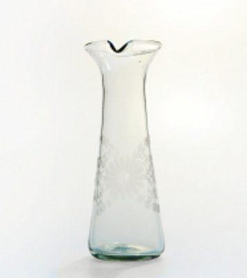 Rose Ann Hall Designs  Condessa Clear Clear Engraved Carafe $50.00