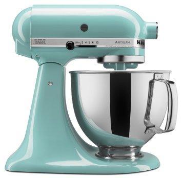 Kitchenaid  Mixers  5 Qrt Atisan Mixer Aqua $349.99