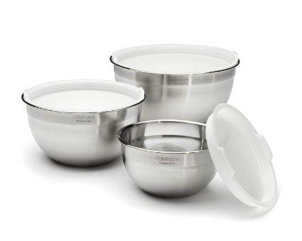 Cuisinart  Kitchen Tools STAINLESS 3PC BOWLS $39.99