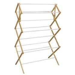 $33.95 WOOD CLOTHES DRYER 45FT