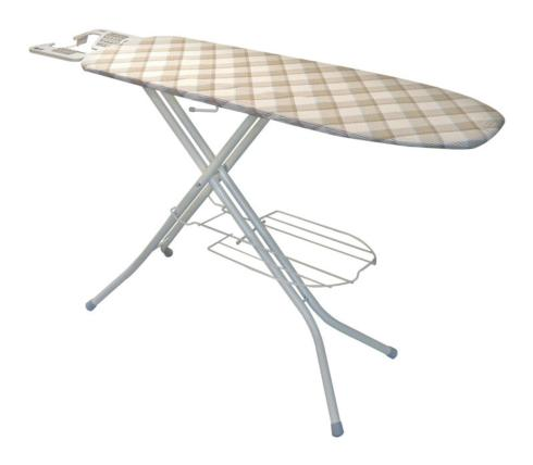 $59.99 Polder 38 in. H Steel Ironing Board with Iron Rest Pad Included