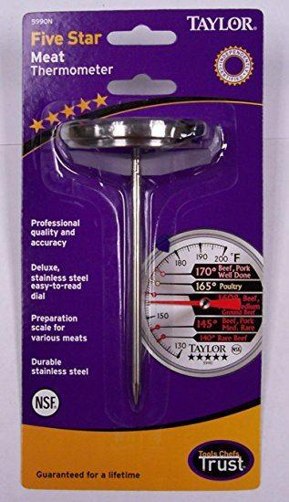 Taylor   S/S Meat Thermometer $12.99