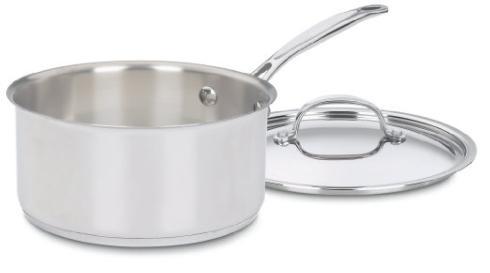 Cuisinart  Pots & Pans Chef'S Classic 3qt Saute Pan $49.99