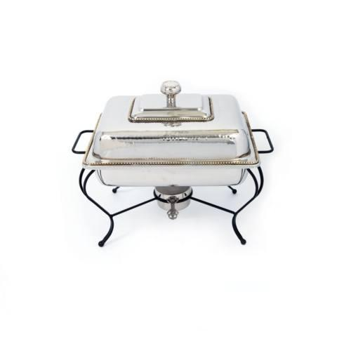 S/S Polished Rect Chafer 4qt