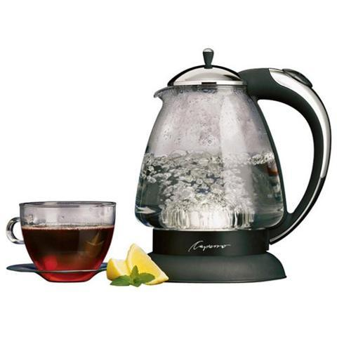 $59.99 H2O PLUS GLASS SILVER KETTLE