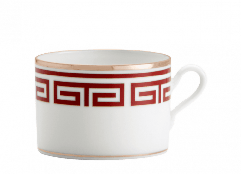 $130.00 LABIRINTO RED TEA CUP