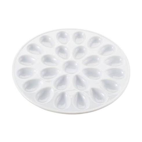 Harold Import  White Bake/Serveware  Deviled Egg Dish 13.25