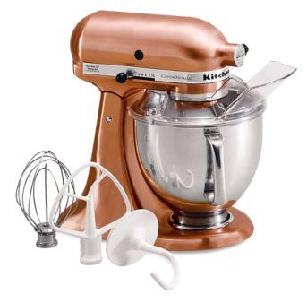 $649.99 CUSTOM METALLIC SERIES 5 QT TILT HEAD STAND MIXER-COPPER