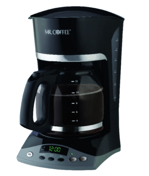 $37.99 Mr. Coffee Advanced Brew 12 cups Black Coffee Maker
