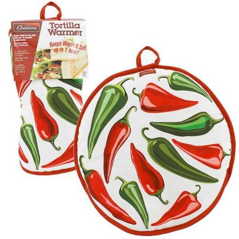 Breed & Co. Exclusives  Kitchen  TORTILLA WARMER PEPPERS $11.00