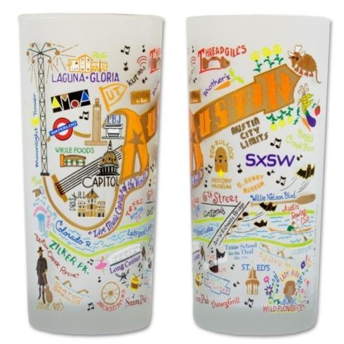 Catstudio  Glassware  Austin Glass $16.00