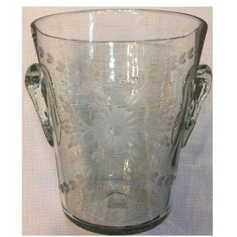 Rose Ann Hall Designs  Condessa Clear Ice Bucket Condessa Clear $59.00