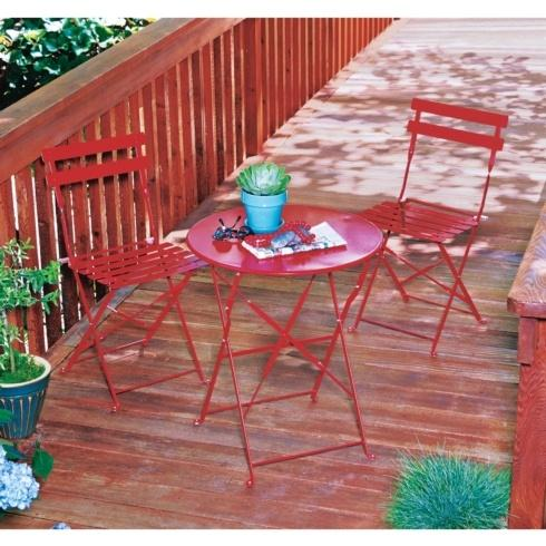 Ace  Ace Living Accents - Trentino Bistro Set - Red $99.99