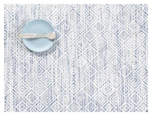Chilewich  Mosaic Rectangle Placemat Blue $15.00