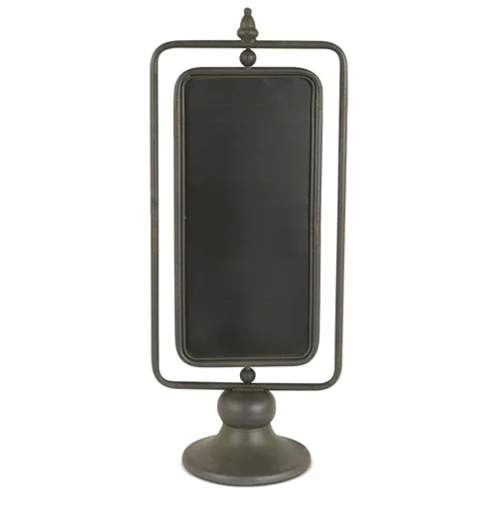 $36.00 Creative Co-Op Chalkboard Stand 2 sided