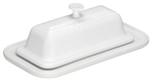 Le Creuset  White White Butter Dish $35.00