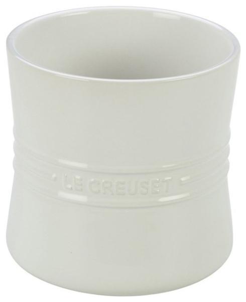 Le Creuset  White Utensil Crock White 2.75qt $50.00