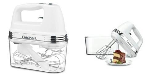 Cuisinart  Mixers  9 Speed Hand Mixer w/case $89.95