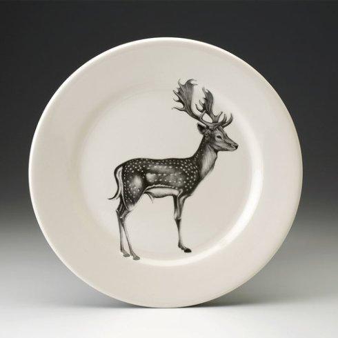 Laura Zindel Design   DINNER PLATE FALLOW BUCK $50.00