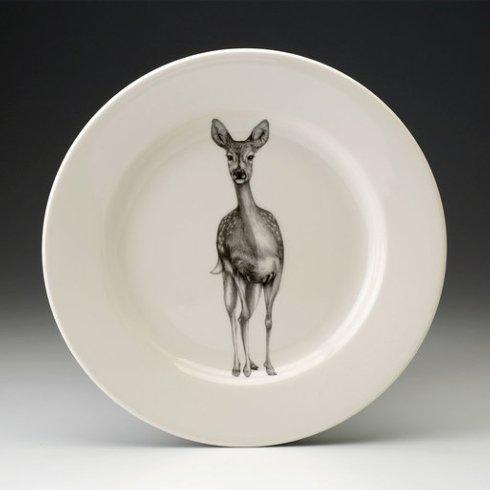 Laura Zindel Design   DINNER PLATE FALLOW DOE $50.00