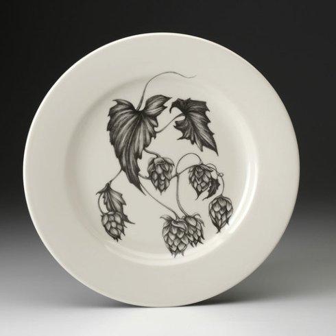 Laura Zindel Design   DINNER PALTE HOPS #4 $50.00