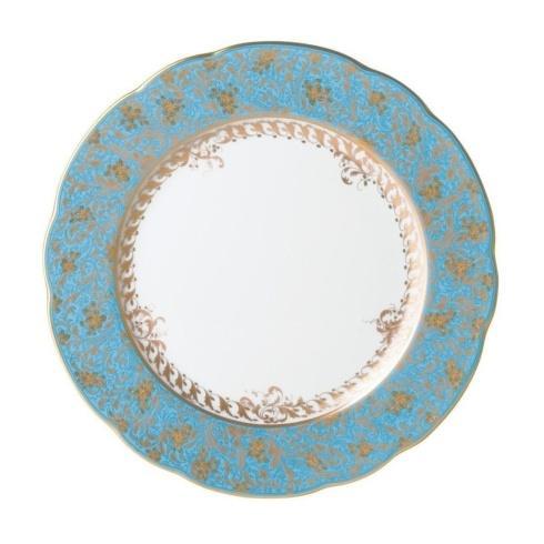 Bernardaud  Eden Eden Turquiose Dinner Plate $215.00
