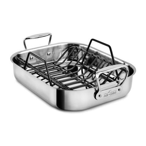 All-Clad  Stainless Cookware SPECIALTY ROASTER SM WITH RACK $159.99