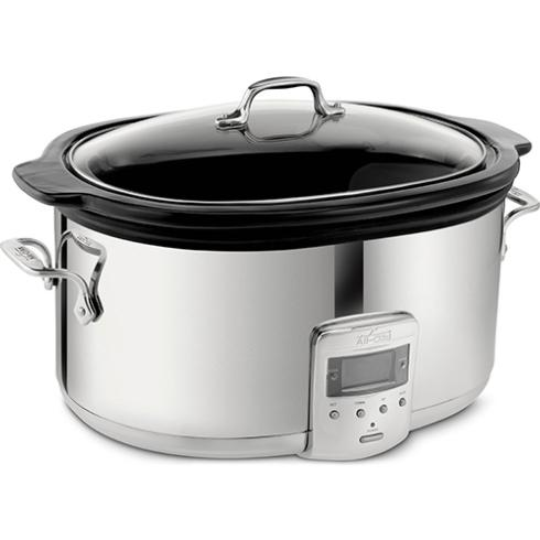All-Clad  Cooking Accessories  Slow Cooker W/Black Ceramic Ins $179.99