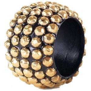 Bodrum  Napkin Rings  STUDS GOLD NAPKIN RING $12.00