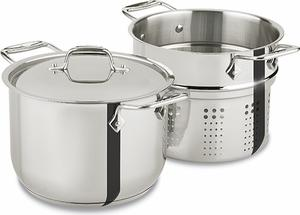 All-Clad  Stainless Cookware 6 Qt Pasta Pot $99.99