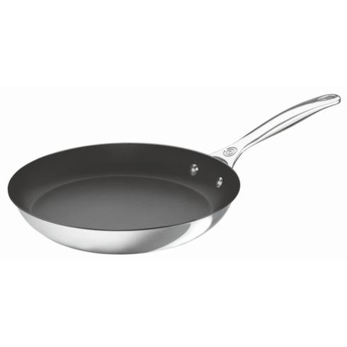 Le Creuset  Stainless NONSTICK FRY PAN 12