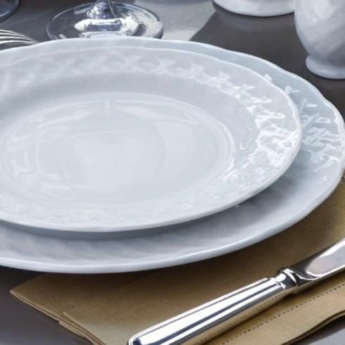 Bernardaud  Osier OSIER WHITE DINNER PLATE $27.50
