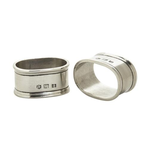 Match   Oval Napkin Ring Pair $80.00