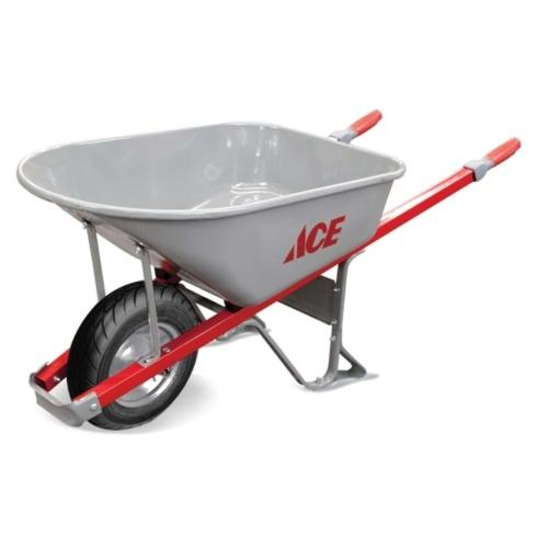 Ace  Ace 6cf Steel Wheelbarrow $89.99